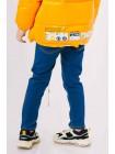 Джинсовые брюки с яркими лампасами JO JO на резинке