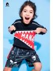 Футболка с пастью акулы Manan