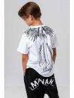 Футболка с фениксом на спине Manan