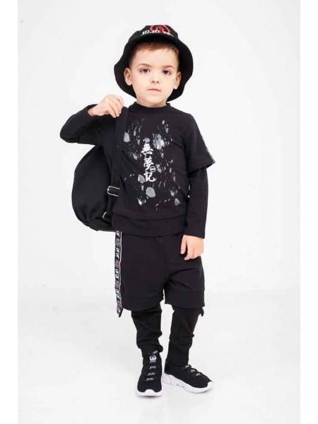 Костюм шорты-лосины + футболка с рукавом JoJo