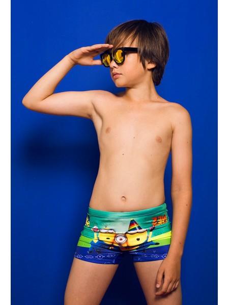 Плавки пляжные для мальчиков Миньоны Gufo