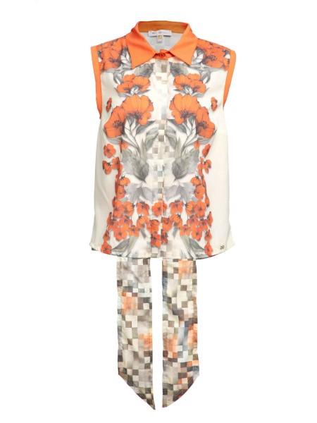 Блуза «Цветы» Waggon Paris