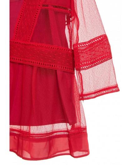 Блуза из сетчатой ткани Atos Lombardini