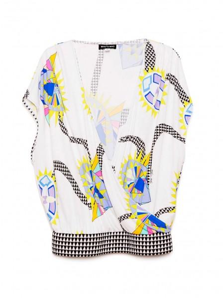 Блуза на запах WHO'S WHO
