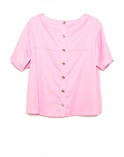 Блуза с пуговицами на спине WHO'S WHO