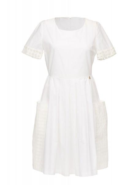 Платье с накладными карманами Baldinini