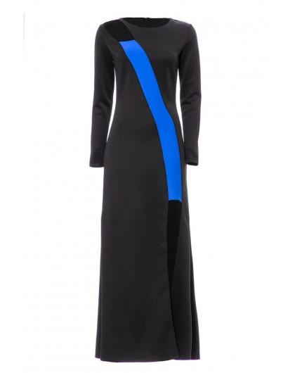 Платье с высоким разрезом Gufo