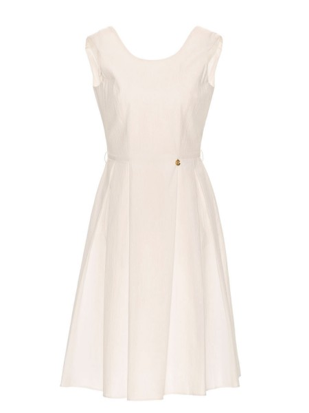 Платье со спинкой на пуговицах Baldinini