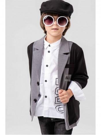 Пиджак с нашивками  JO JO