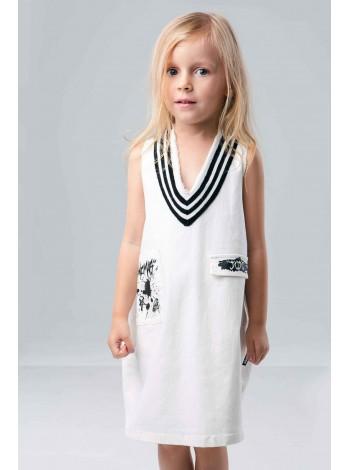 Платье в морском стиле JO JO