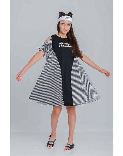 Платье с открытыми плечами JOJO