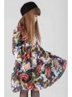 Платье JO JO с цветным принтом