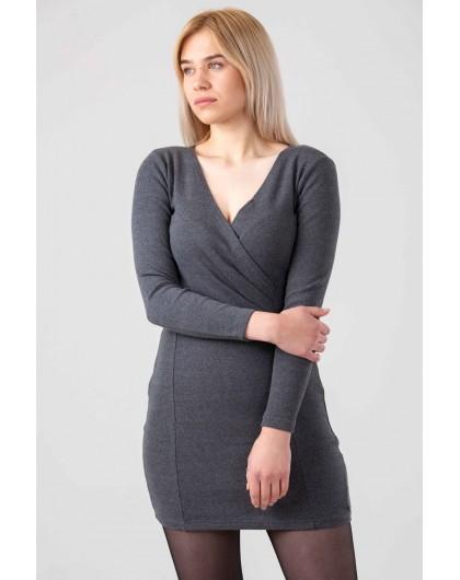 Платье с драпировкой на груди Gufo