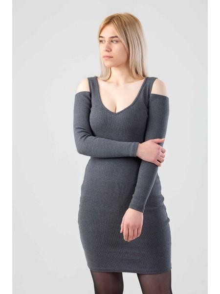Платье с вырезами на плечах Gufo