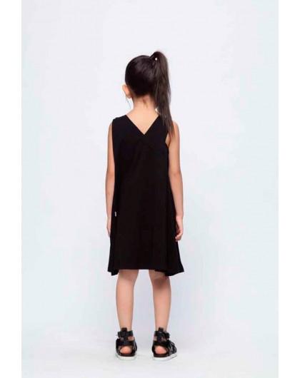Платье-трапеция с надписью на груди  JoJo
