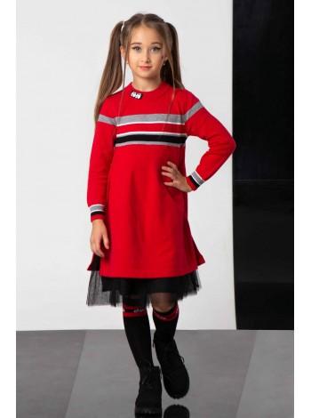 Платье с фатиновым подъюбником JoJo