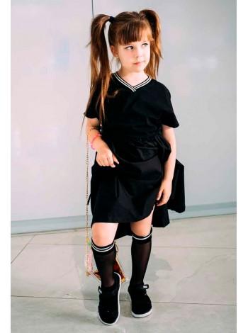Платье спортивное с манжетами JO JO