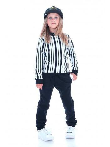 Детские утепленные флисовые спортивные штаны JO JO
