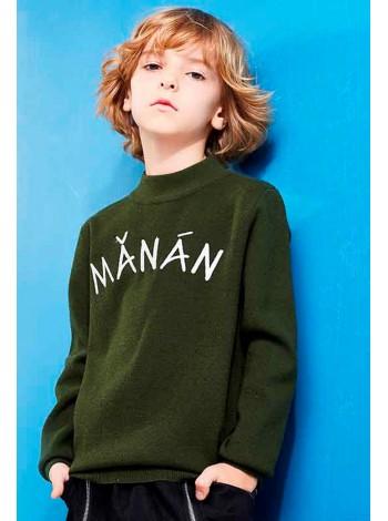 Свитер с вышивкой Manan