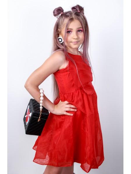 Платье фатиновое на бретельках  JoJo