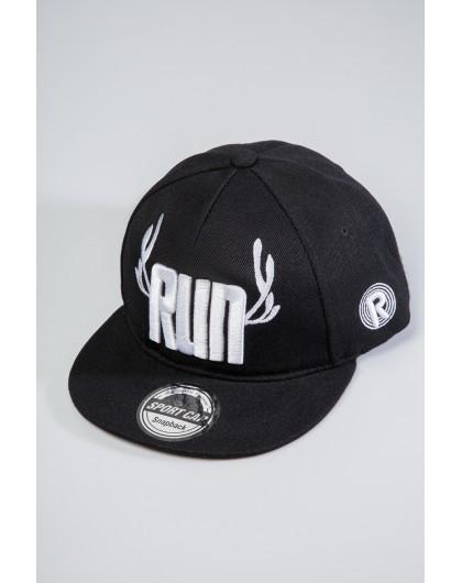 Бейсболка Snapback с вышивкой RUN GUFO