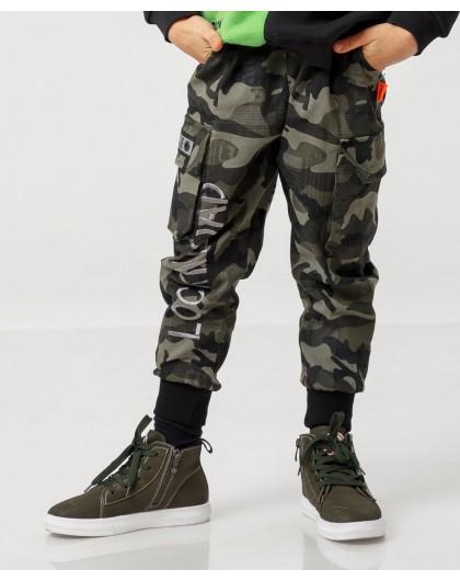 Штаны камуфляжные на манжетах Manan