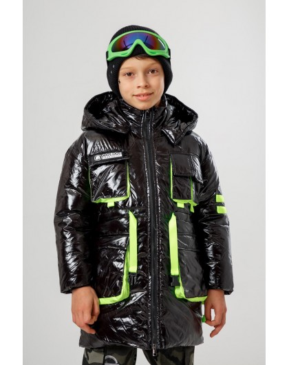 Куртка пуховая с капюшоном Manan