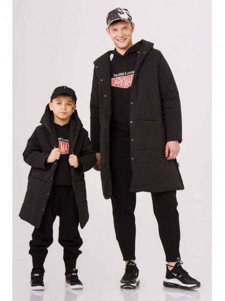 Куртка-пуховик с вышивкой на спине JoJo