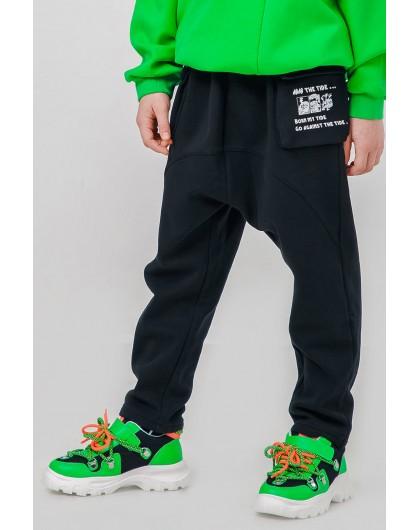 Штаны с принтом «Мышка» на кармане JO JO
