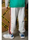 Штаны с разноцветными лампасами Manan