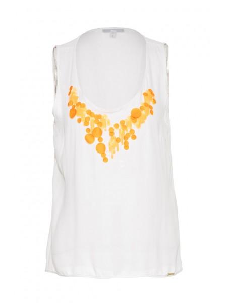 Блуза с пайетками Waggon Paris