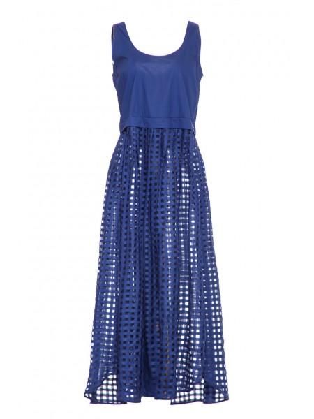 Платье с перфорацией Baldinini
