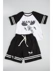 """Костюм с шортами и принтом """"космонавт"""" Manan"""