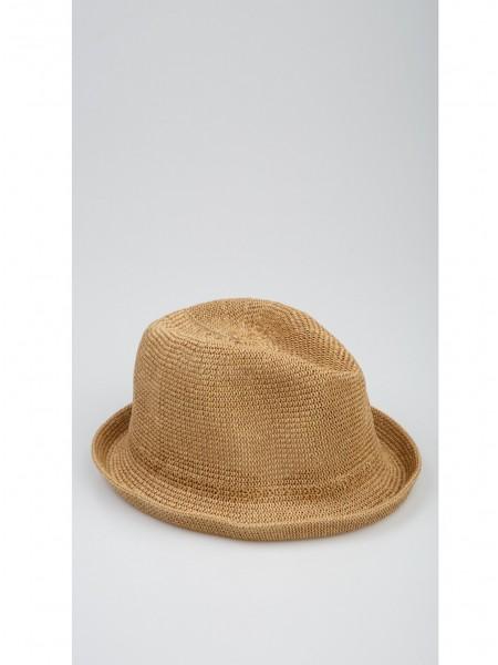 Шляпа соломенная однотонная Gufo
