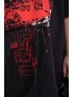 Платье – футболка с фатином JO JO