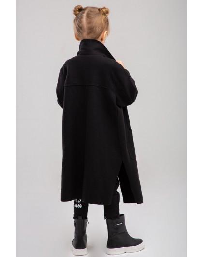 Пальто с разрезами по бокам JO JO