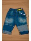 Шорты джинсовые с лампасами Gufo