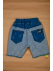 Шорты джинсовые с потертостями Gufo