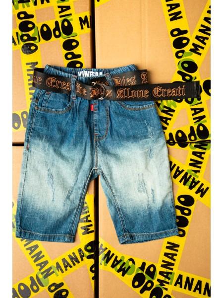 Шорты джинсовые с ремнем Gufo