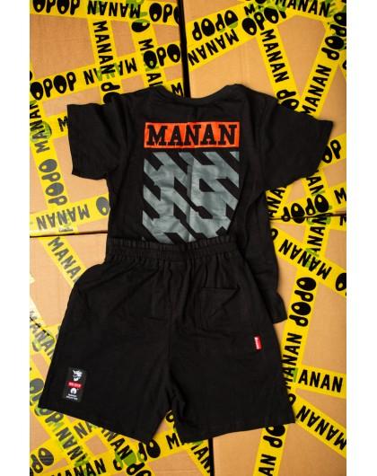 Костюм с шортами и принтом 15 Manan