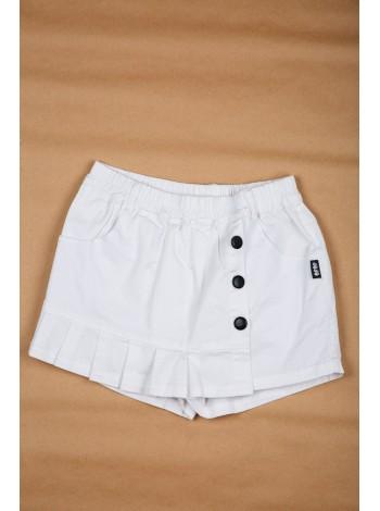 Юбка-шорты джинсовая с рюшами JO JO