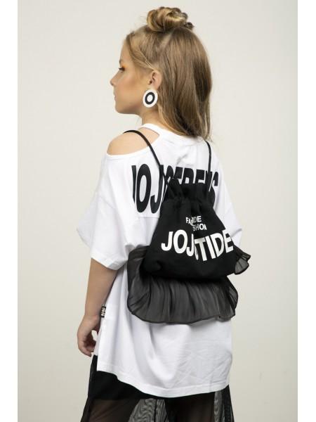 Сумка - рюкзак с фатиновыми рюшами  JoJo