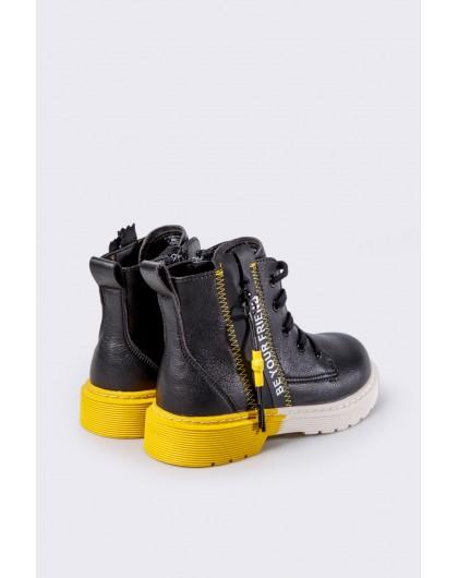 Ботинки с цветной пяткой Fashion Dog