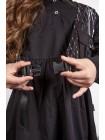 Платье хлопковое с жилеткой JoJo