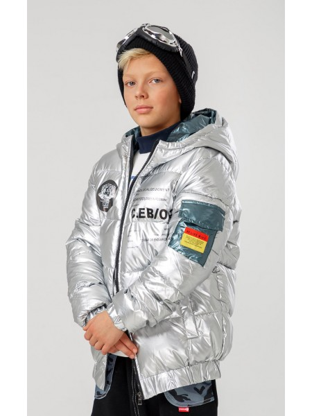 Куртка с капюшоном и принтом C.EB/02 Manan