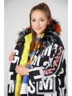 Куртка с меховой съемной подкладкой Manan