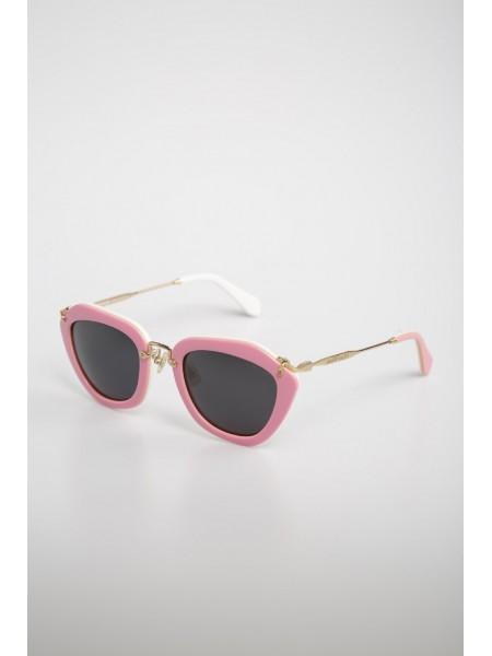 Очки Miu Miu в розовой оправе