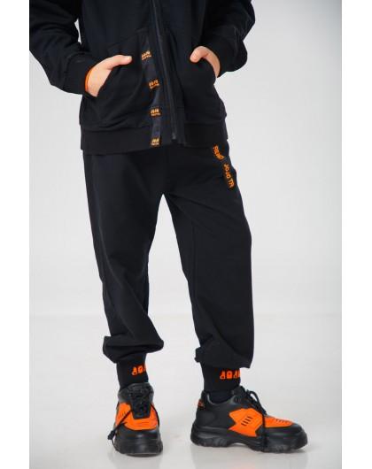 Штаны с брендовой нашивкой JO JO