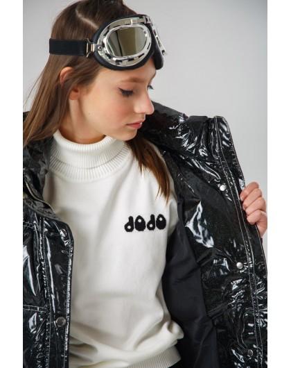 Пуховик-куртка с блестками JO JO