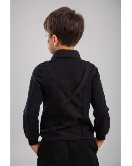 Джемпер с имитацией рубашки Manan